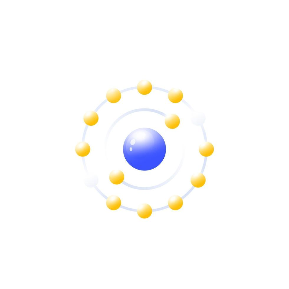 ícone antioxidante, ilustração vetorial em white.eps vetor
