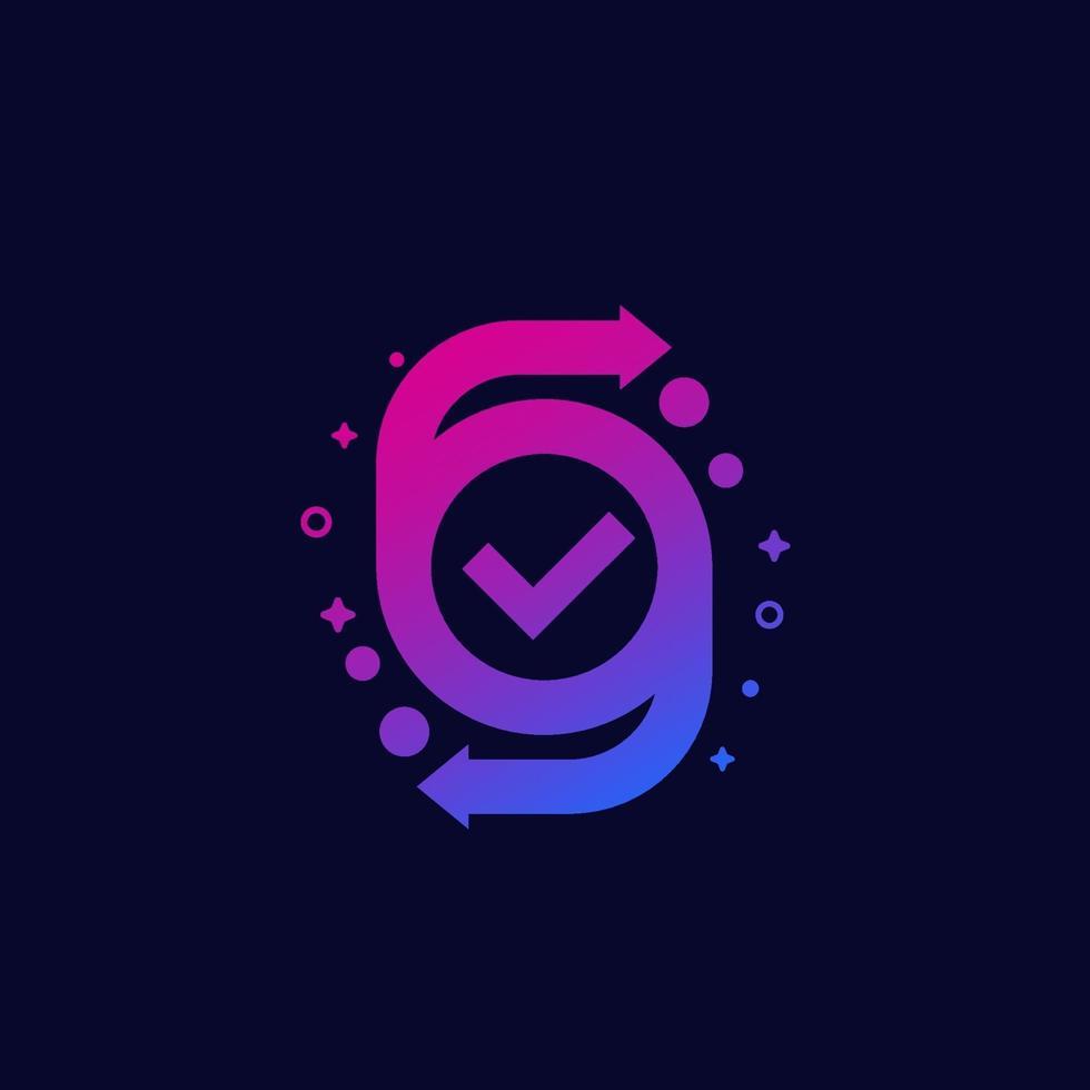 conversão completa ou troca vector icon.eps