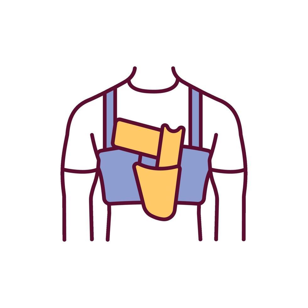 abrir o ícone de cor rgb do carry vetor