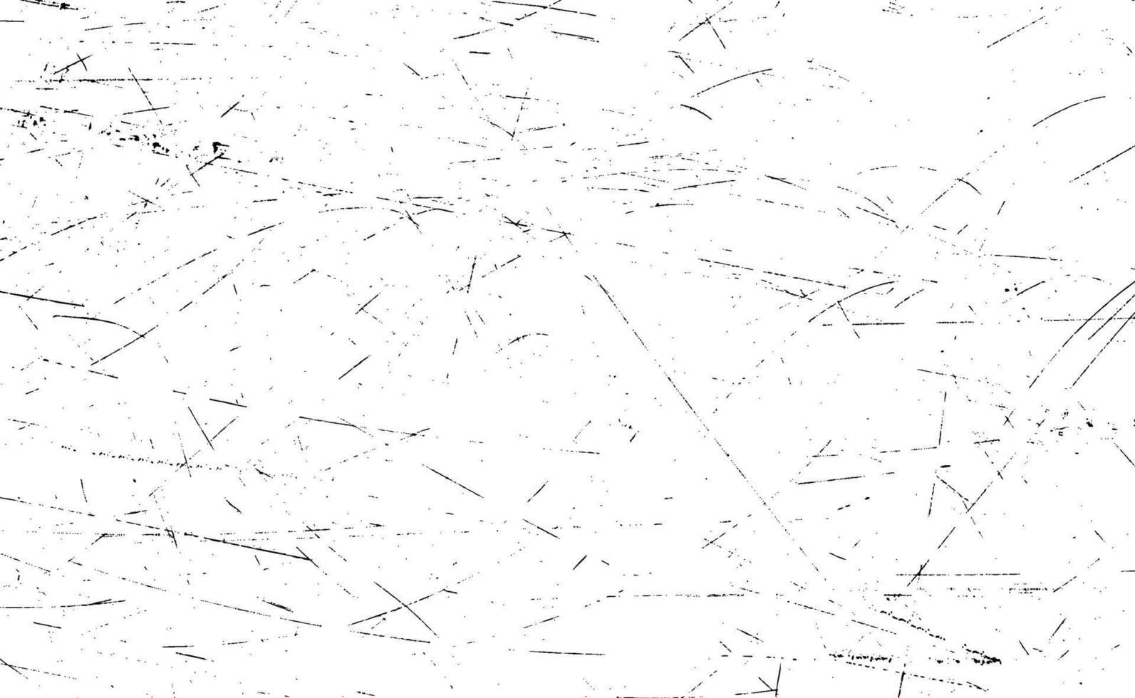 grunge linhas pretas e pontos em um fundo branco - ilustração vetorial vetor