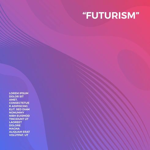 Fundo De Vetor Futurismo