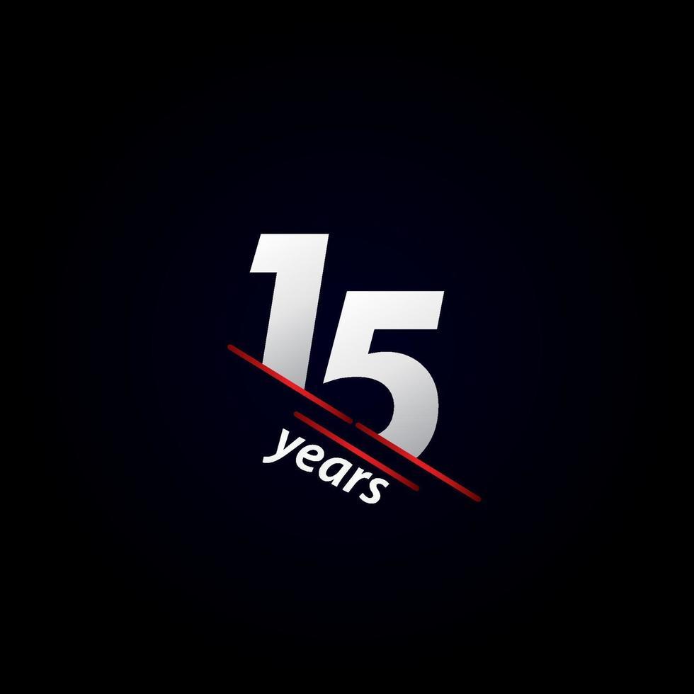 Ilustração em preto e branco da celebração do aniversário de 15 anos vetor