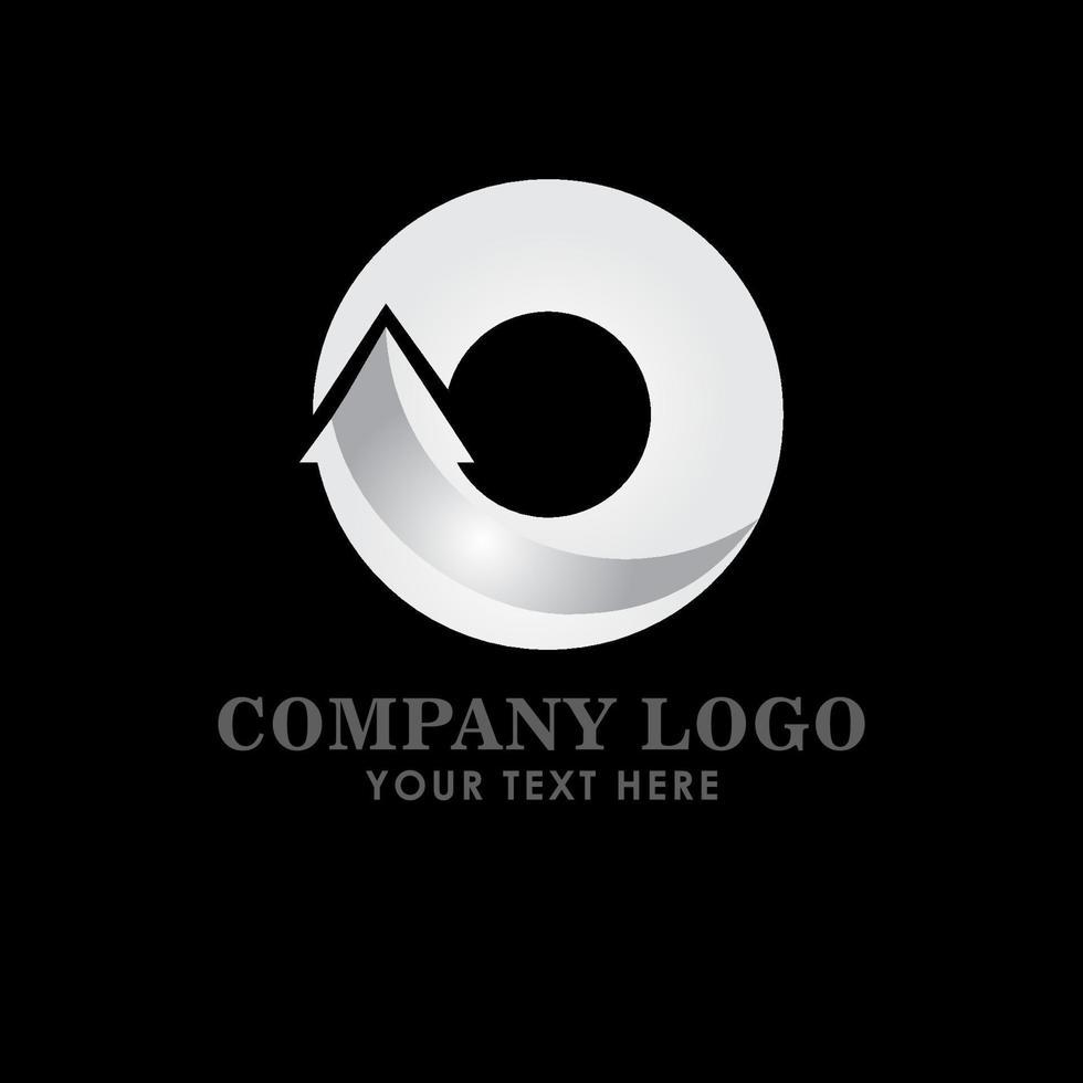 ilustração do design do modelo do vetor do logotipo da empresa