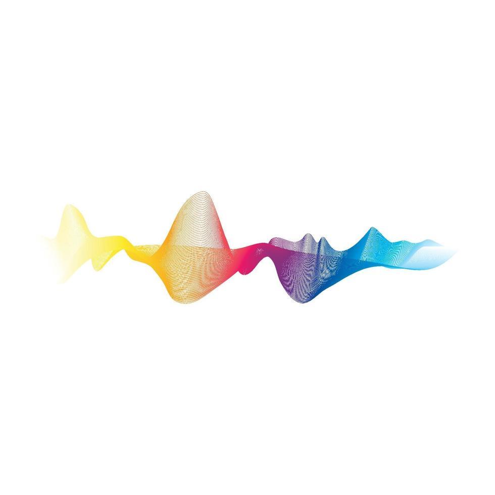 imagens de linha de onda vetor