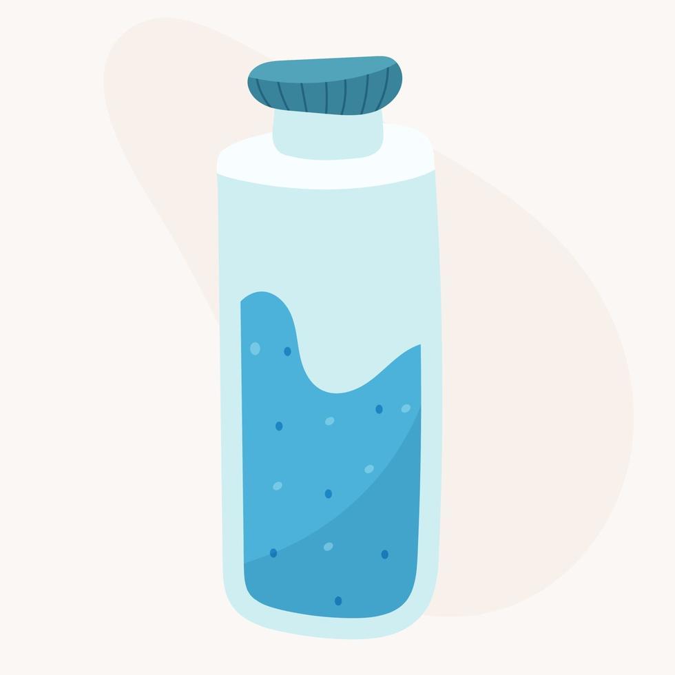 garrafa de água ecológica vetor