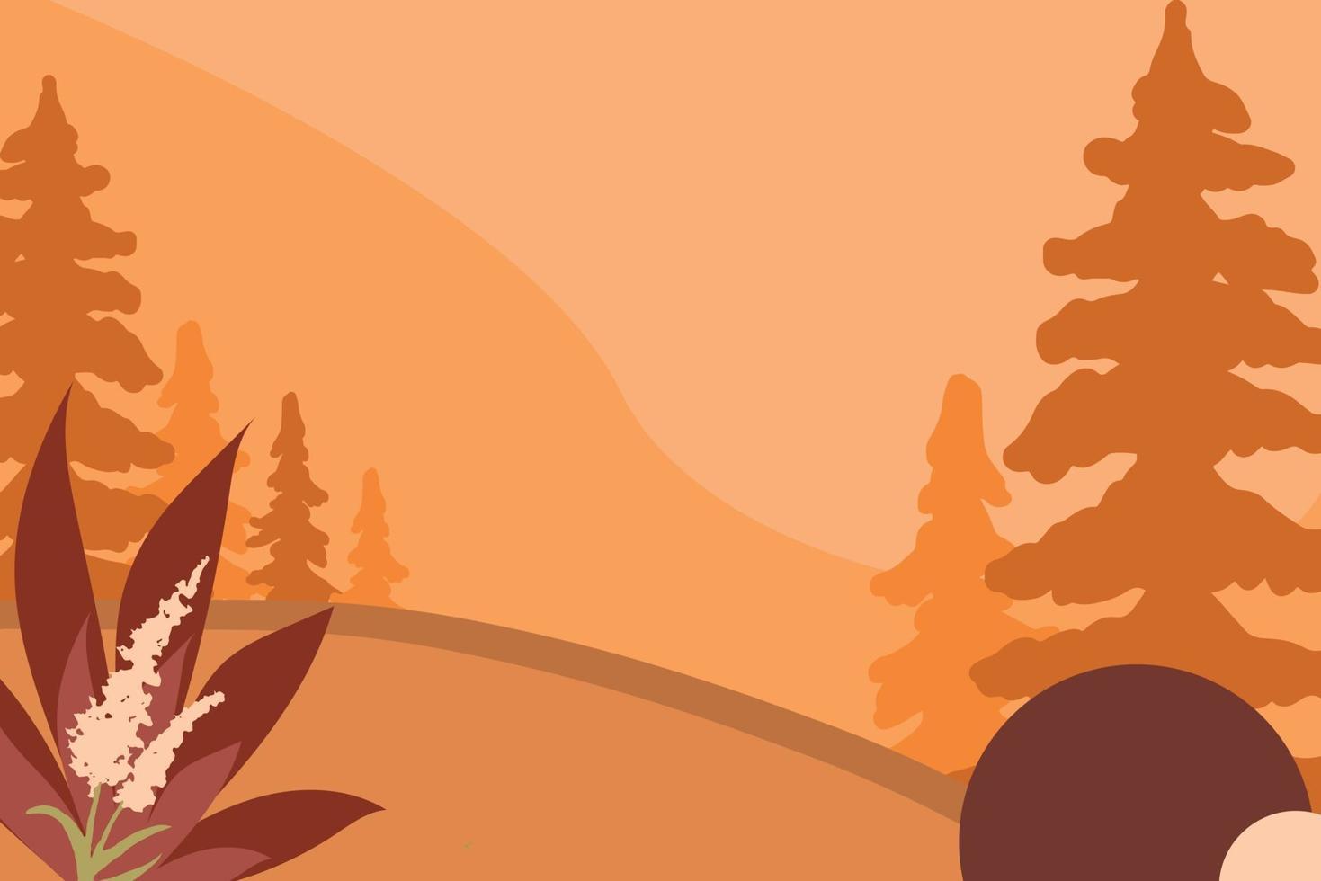 vetor de fundo de outono