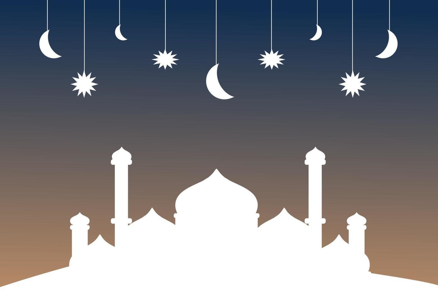fundo ramadhan kareem vetor