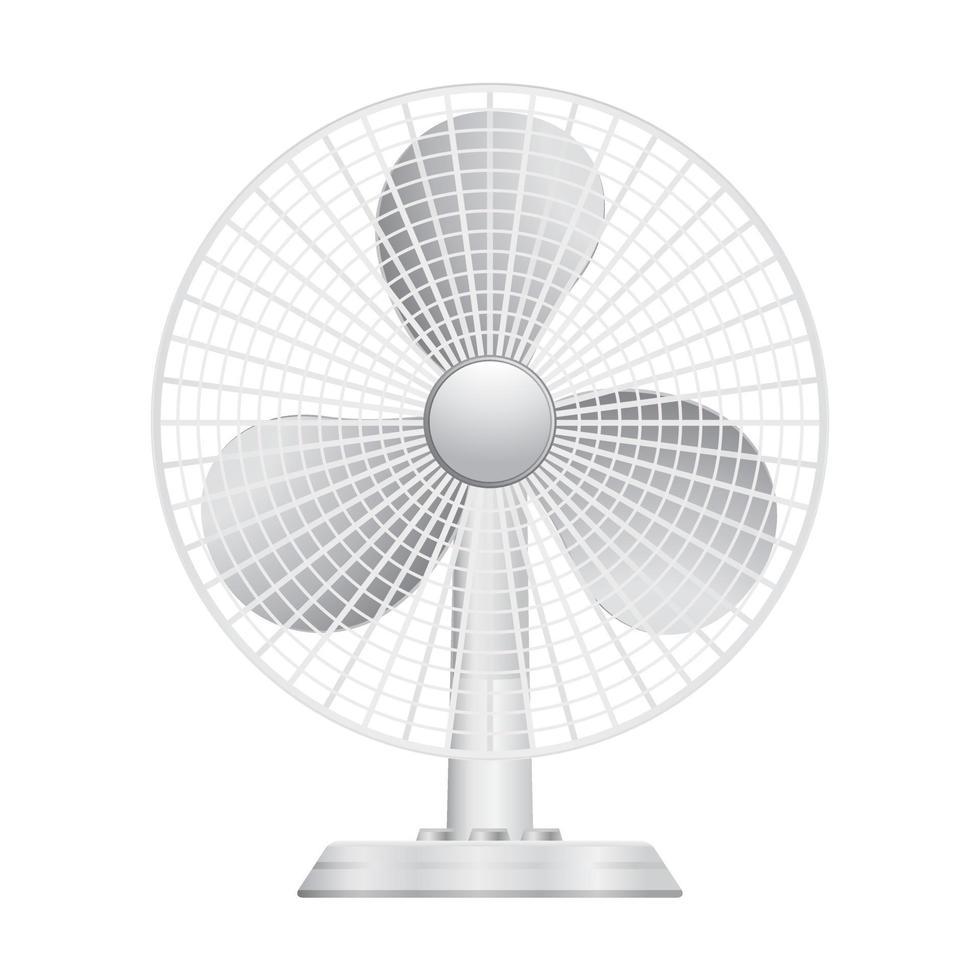 pequeno ícone de ventilador vetor