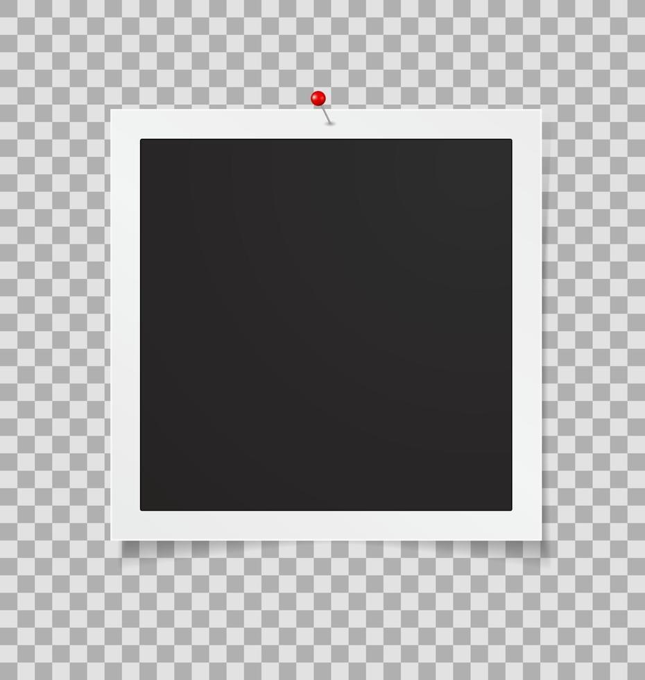 moldura de foto vetor