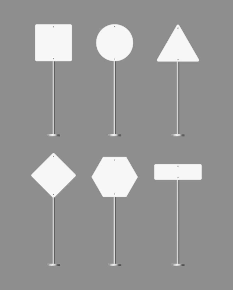 ícone de placa de rua vetor