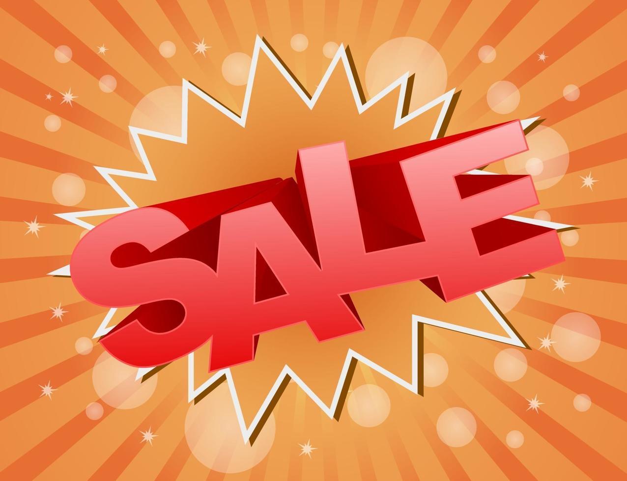 ícone de vetor de venda