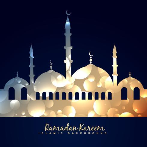 linda mesquita brilhante vetor