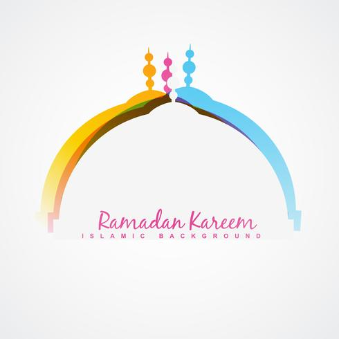 projeto do festival ramadan vetor