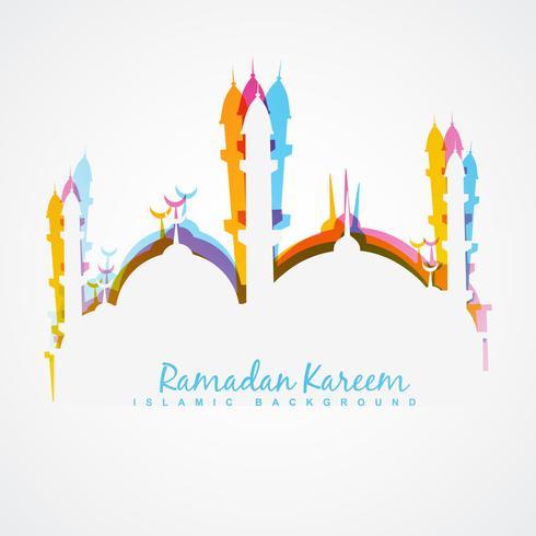 ilustração de ramadan kareem vetor