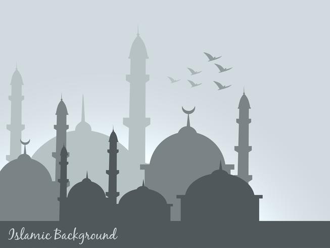 fundo islâmico vetor