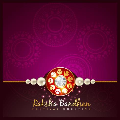 raksha bandhan festival fundo vetor
