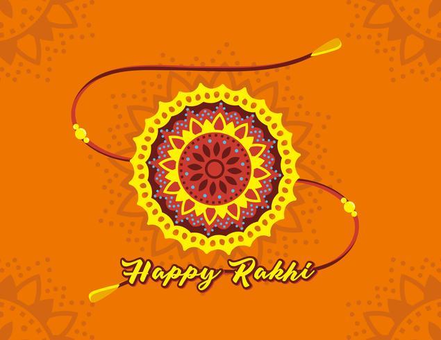 Feliz Rakhi Vector