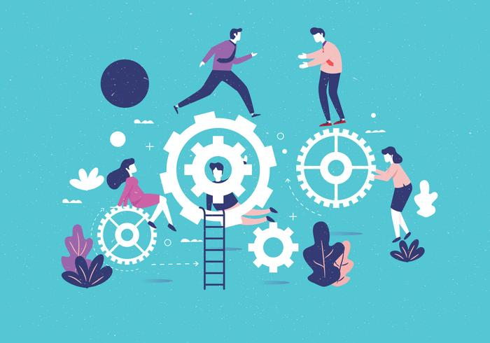 Vector isométrica Teamwork Vol 2