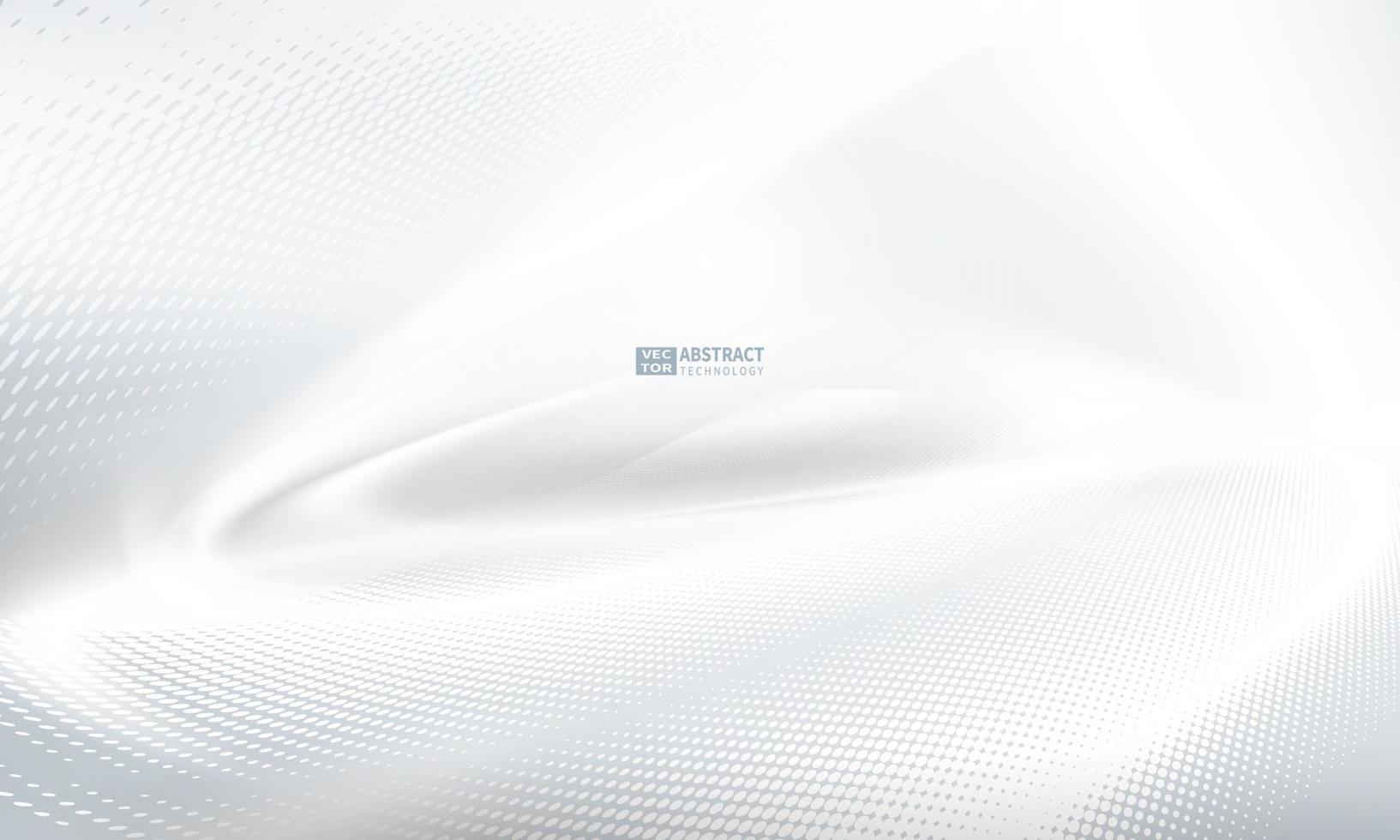 poster abstrato cinza com dinâmica. ilustração em vetor tecnologia rede.