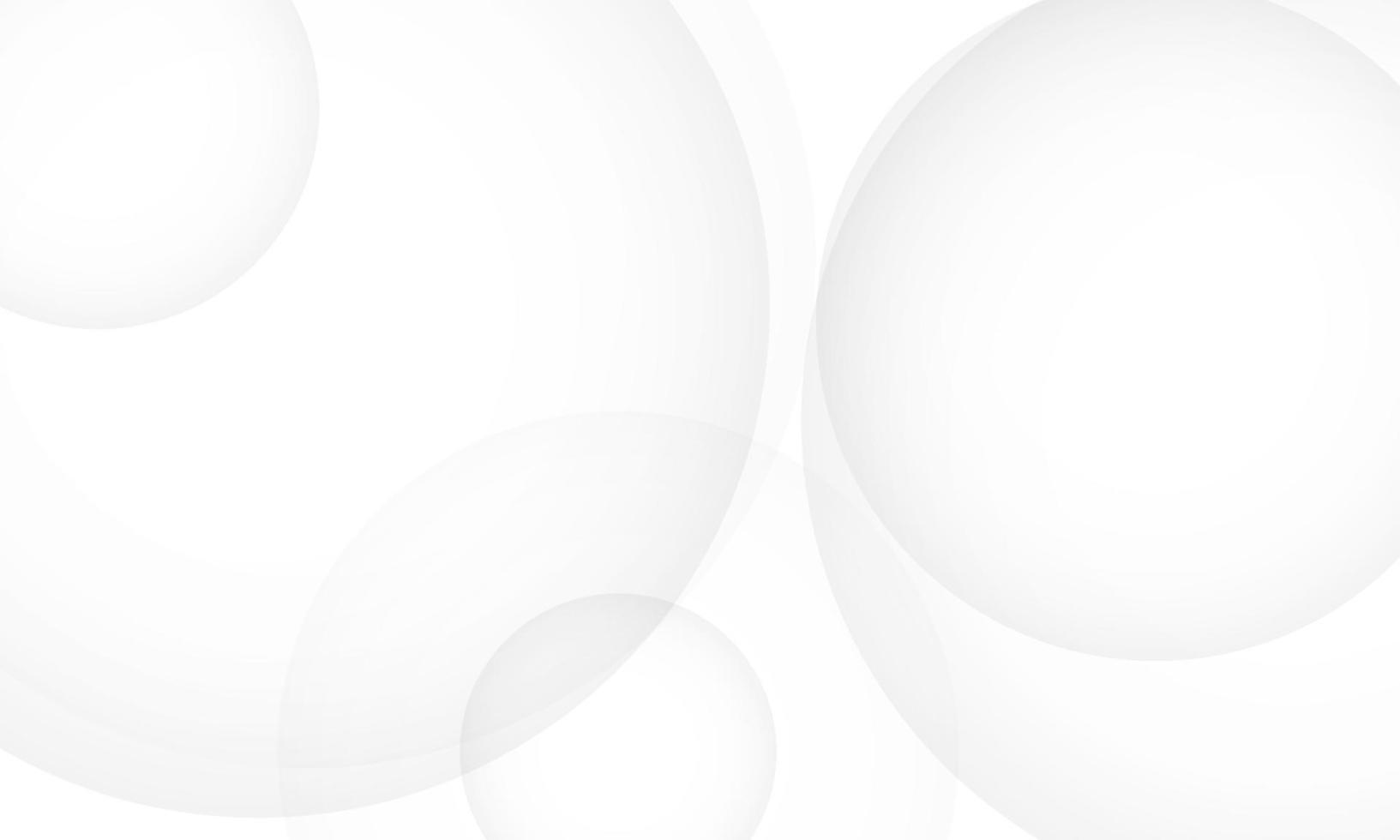cartaz de fundo abstrato círculo branco com dinâmica. ilustração em vetor tecnologia rede.