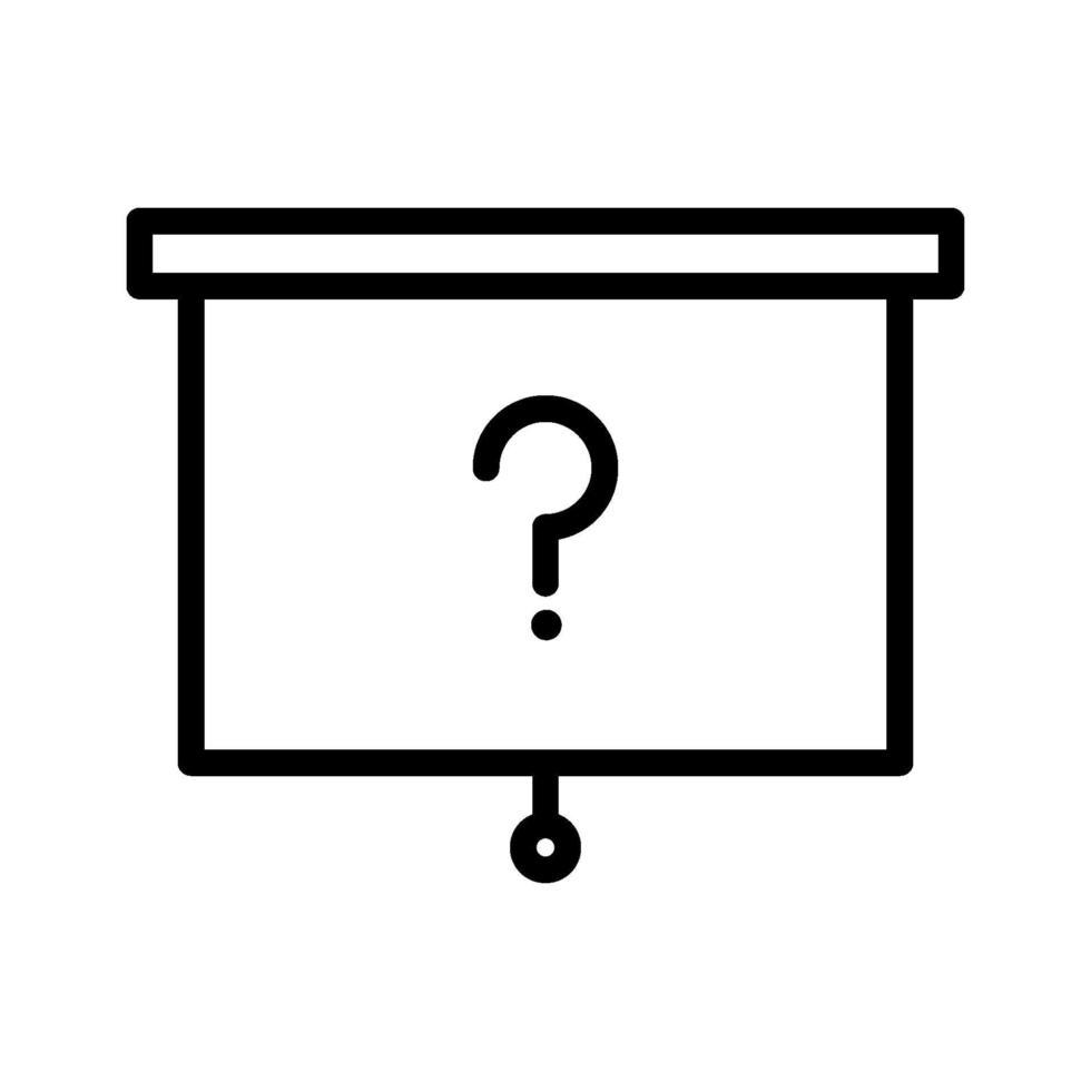 ícone de vetor de pergunta