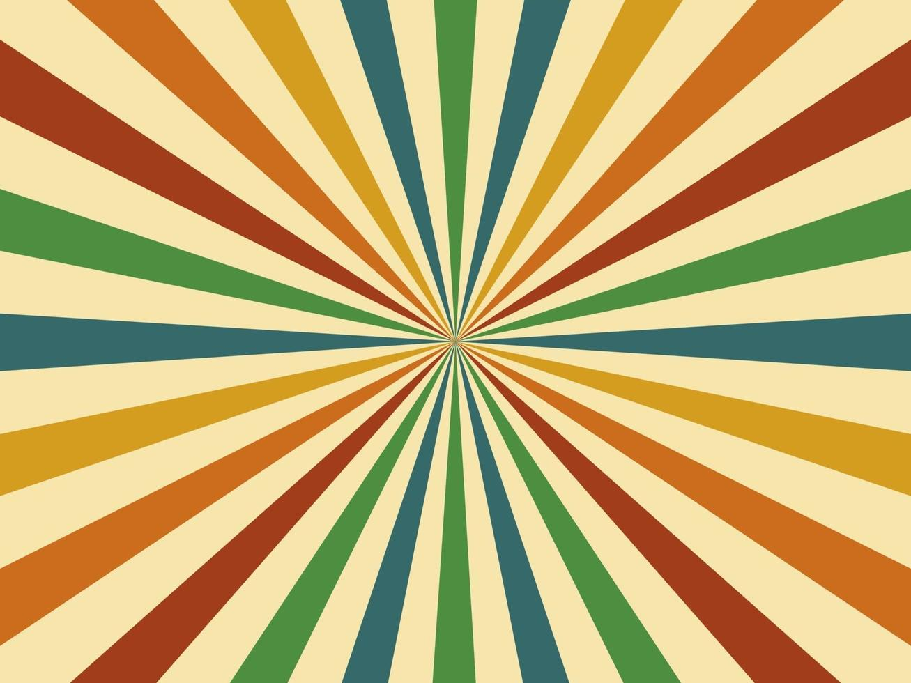 abstrato. Fundo vintage geométrico estilo retro colorido dos anos 60. vetor. ilustração. vetor