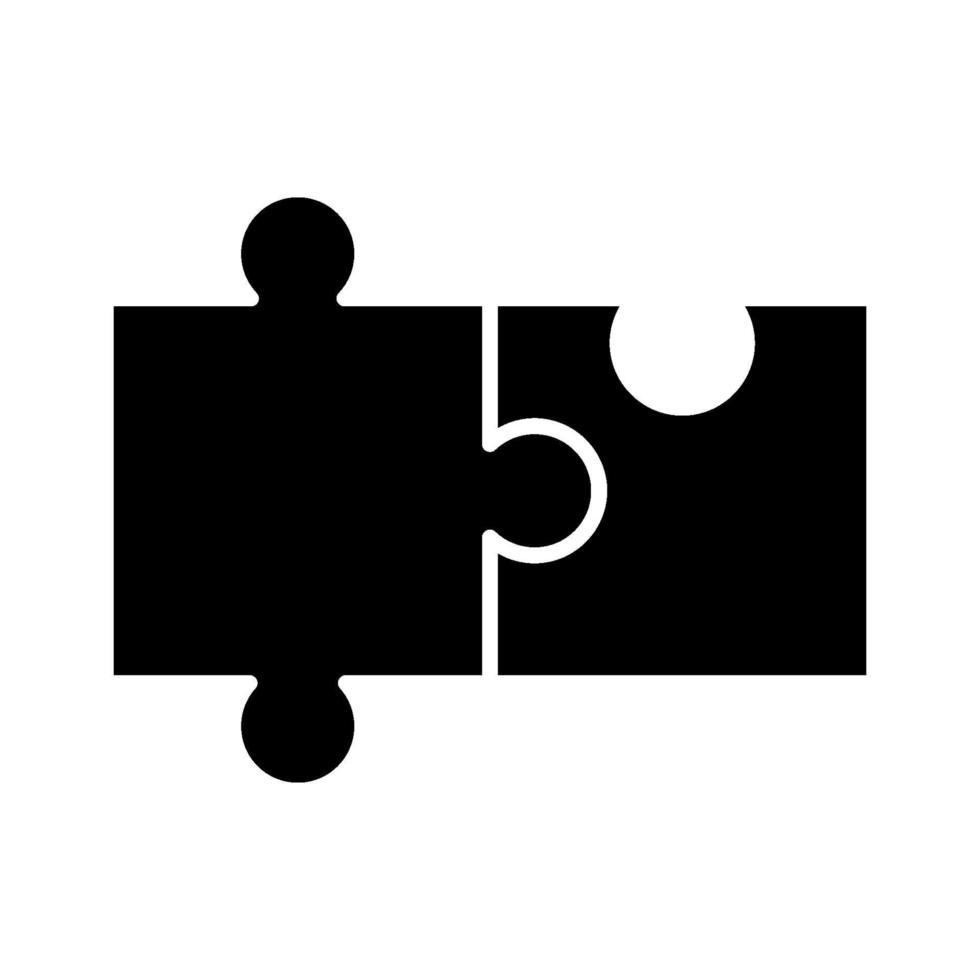 ícone de vetor de quebra-cabeça