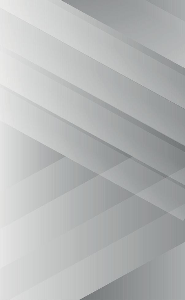 fundo abstrato de linhas cinza em tamanhos diferentes vetor