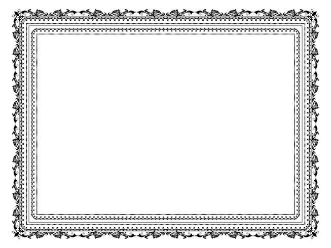 quadro decorativo vetor