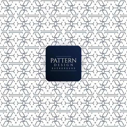 Fundo abstrato sem costura padrão geométrico vetor