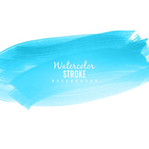 Abstrato colorido azul aquarela curso fundo illus vetor