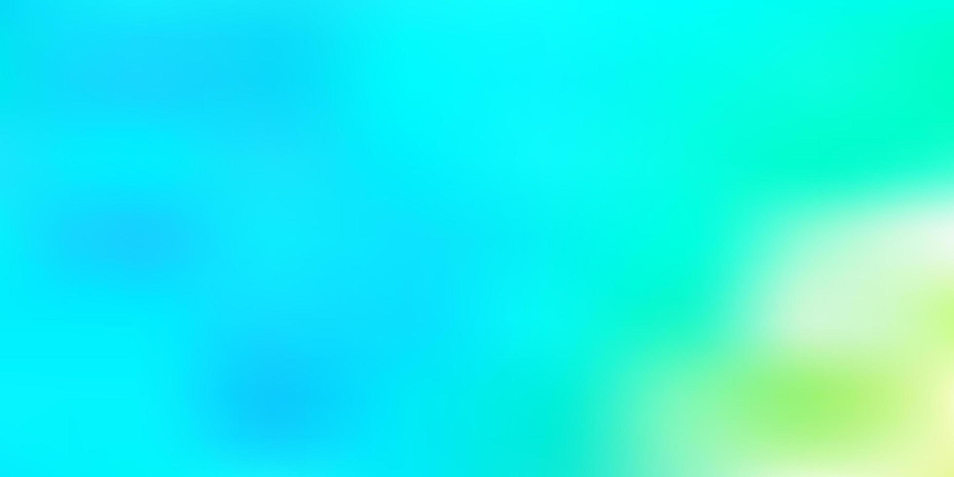 abstrato azul claro verde vetor desfocar o fundo