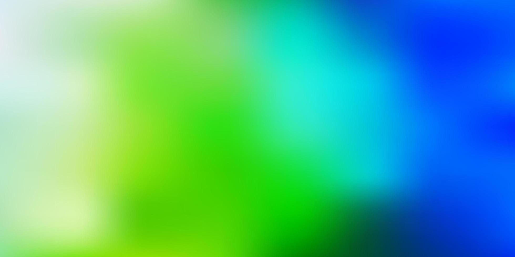azul claro verde vetor turva padrão