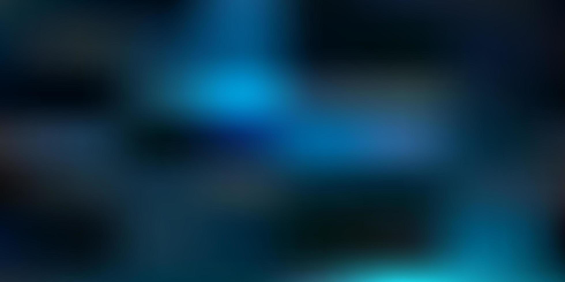 modelo de desfoque abstrato de vetor verde azul escuro
