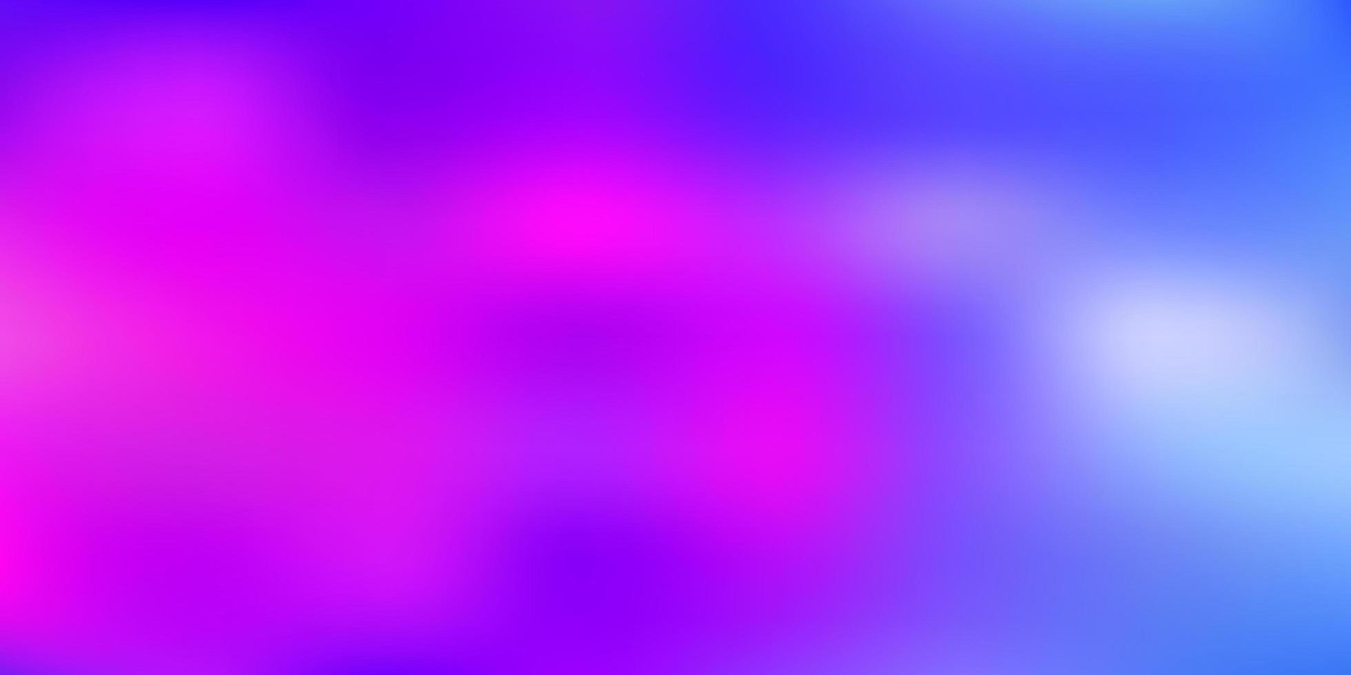 fundo de desfoque de vetor azul claro