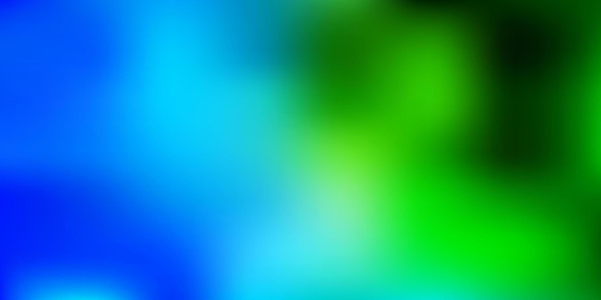 textura desfocada vetor verde azul claro