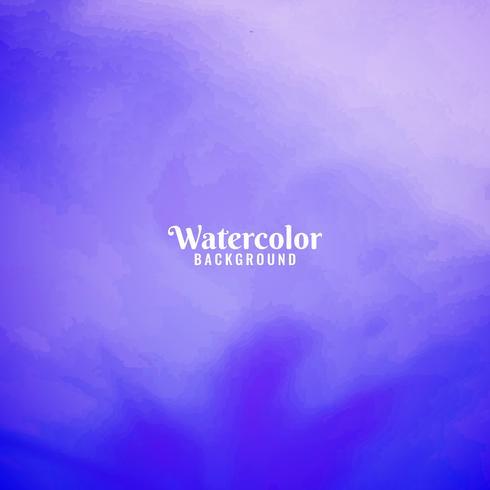 Abstrato colorido design de fundo aquarela vetor