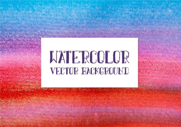Fundo colorido da aguarela do vetor