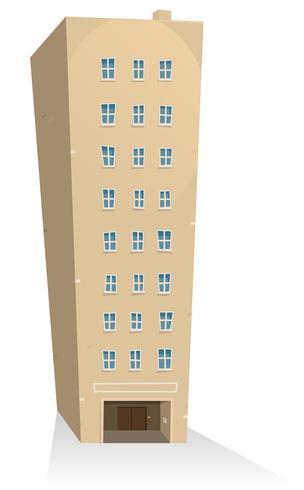 Edifício de apartamentos vetor