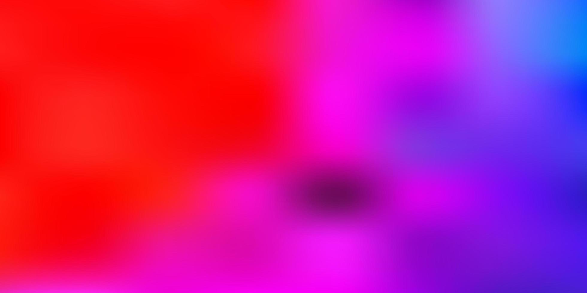 fundo azul claro vermelho desfocado vetor