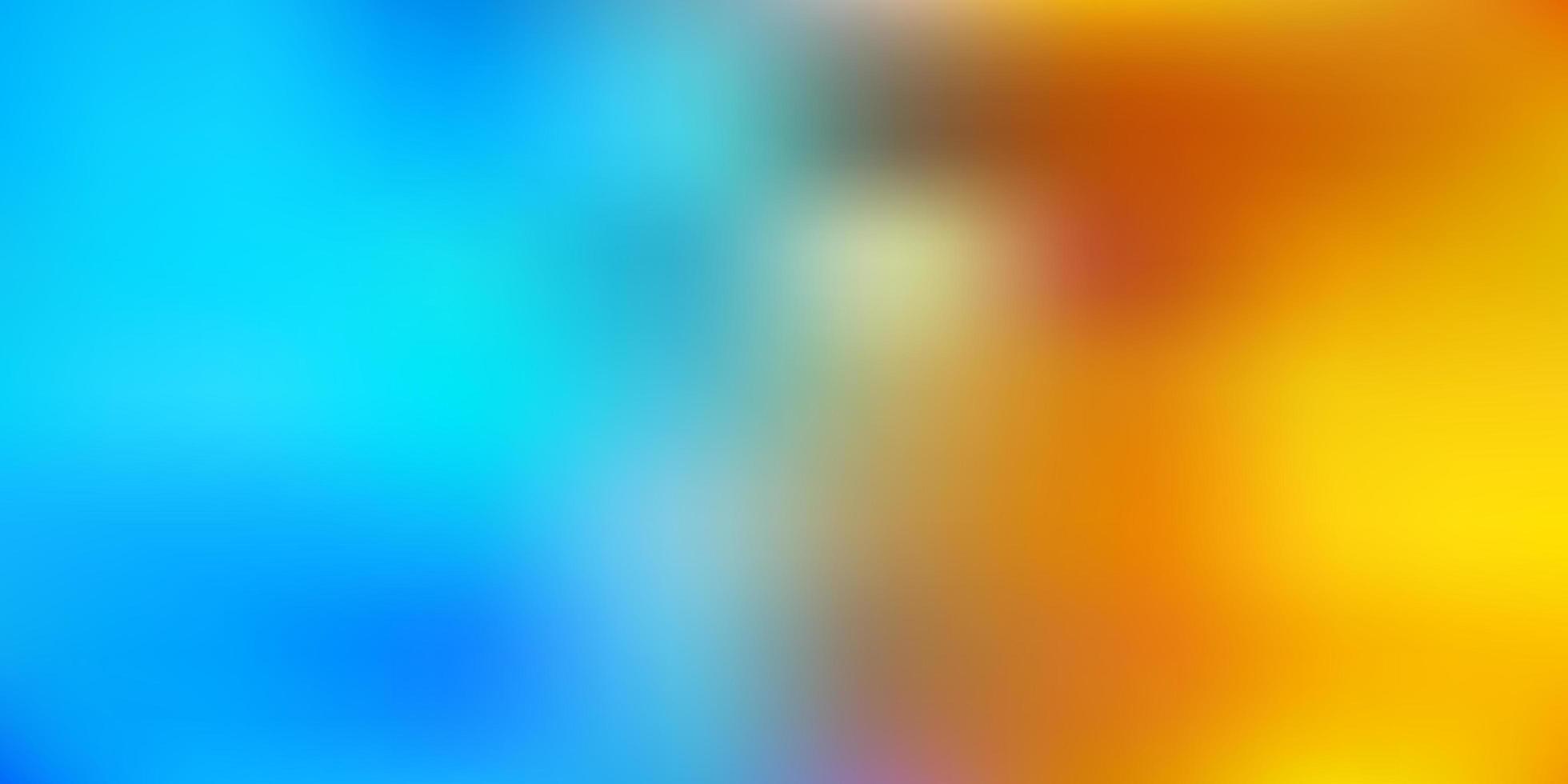 azul claro amarelo vetor abstrato desfocar o fundo