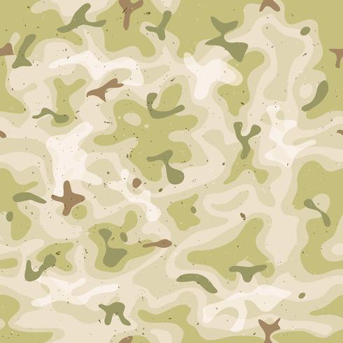 Conjunto de camuflagem militar sem emenda vetor