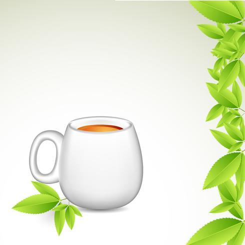 Xícara de chá vetor