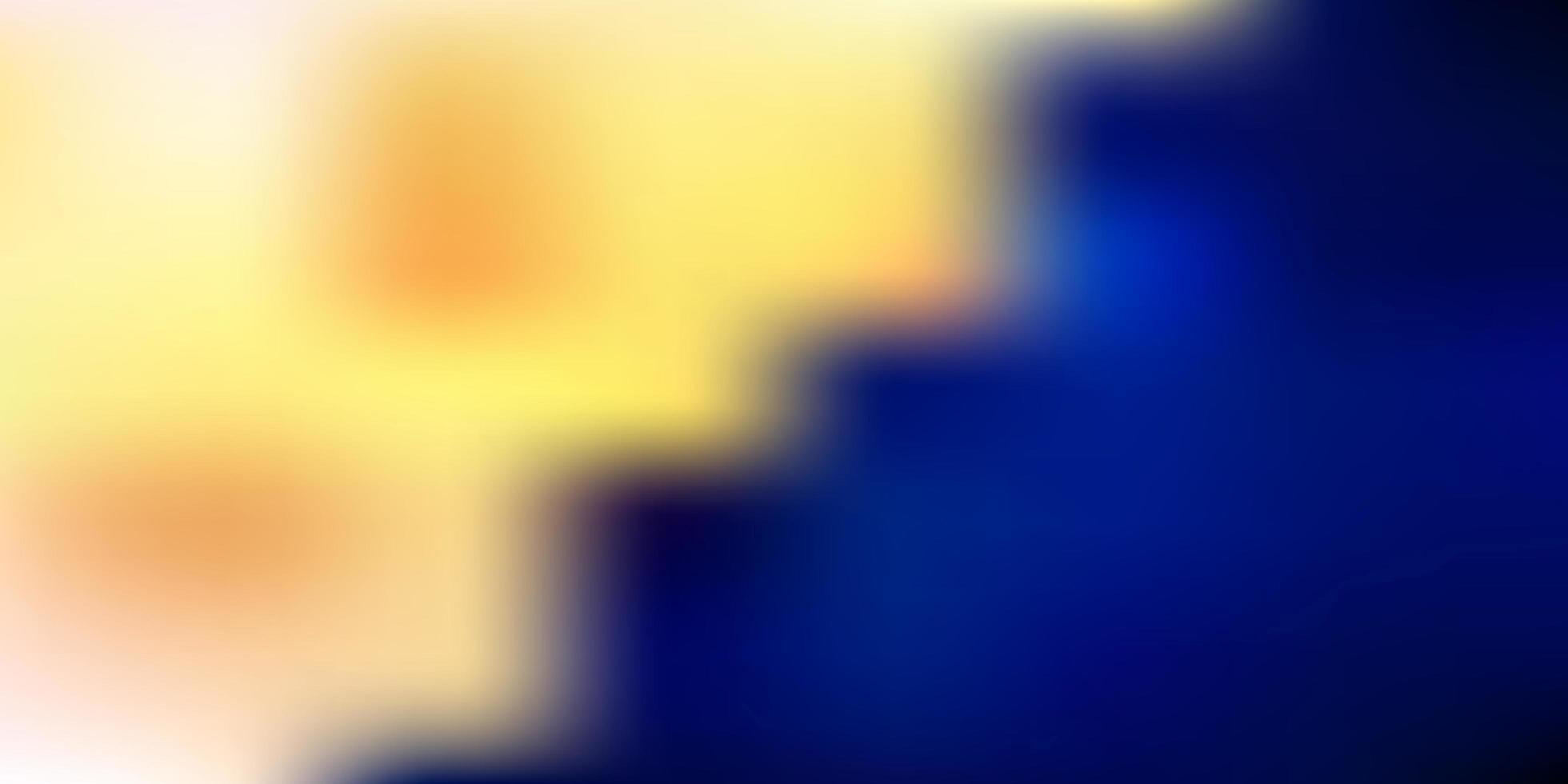 textura de desfoque gradiente de vetor azul escuro