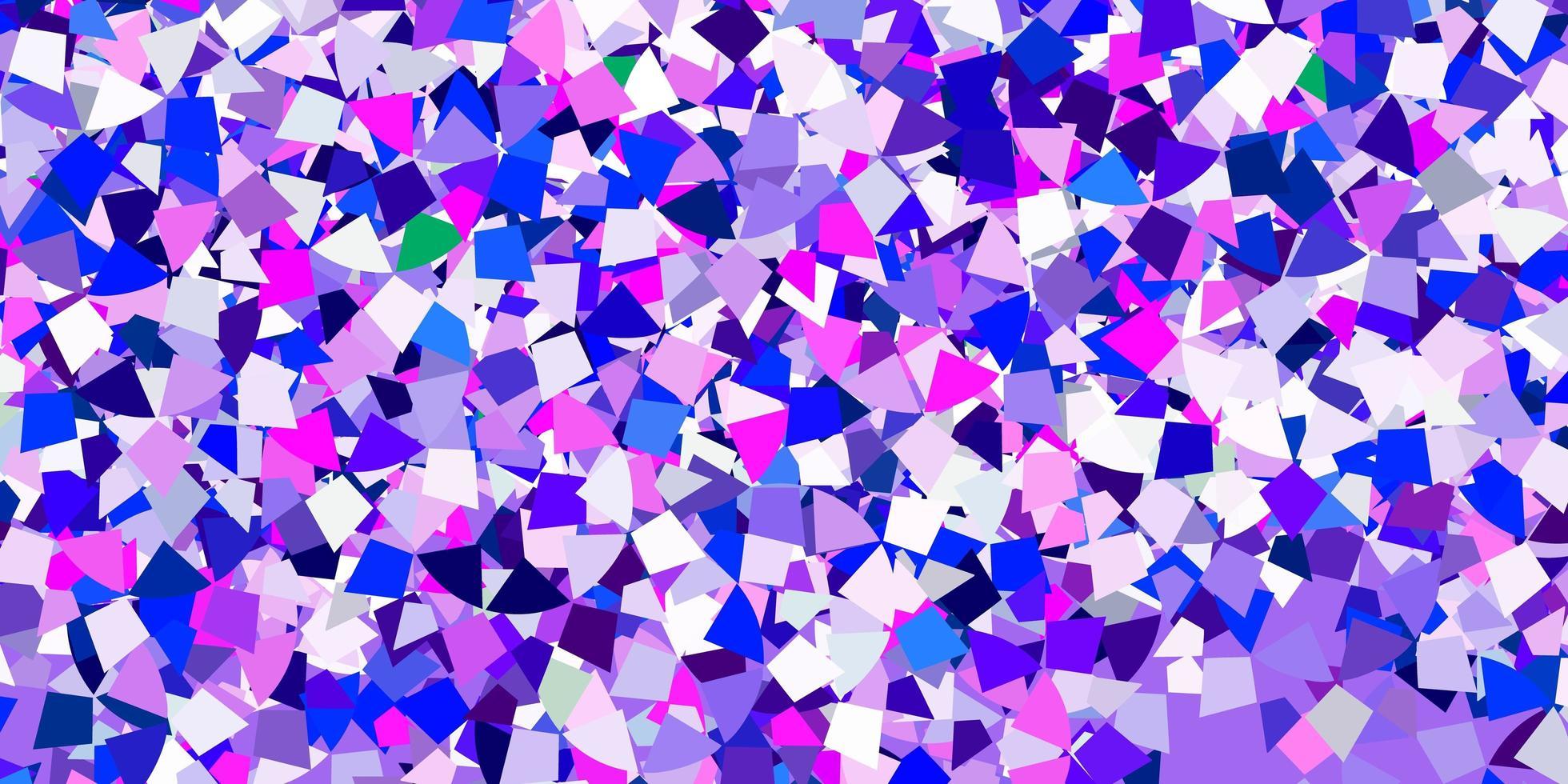pano de fundo azul claro com triângulos de linhas vetor