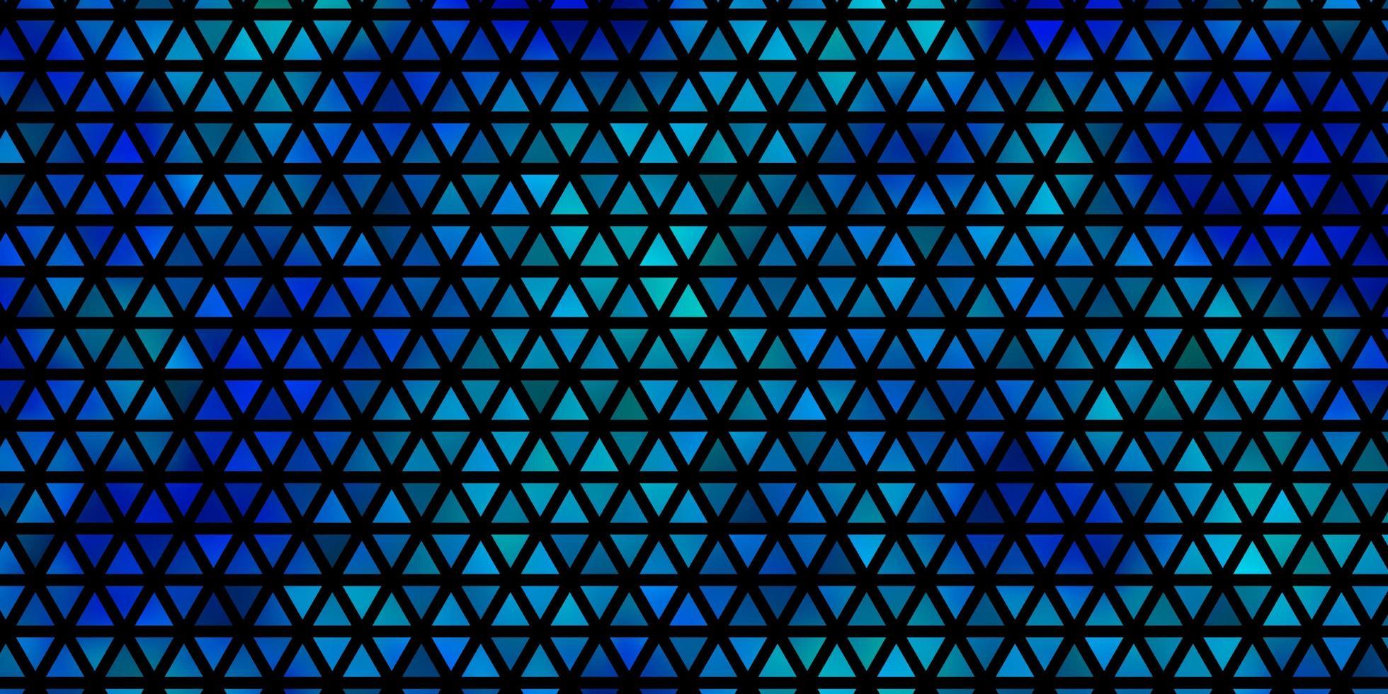 fundo vector azul claro com estilo poligonal