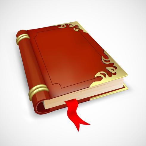 Livro mitológico vetor