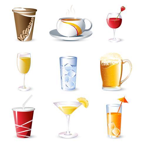 Bebidas vetor