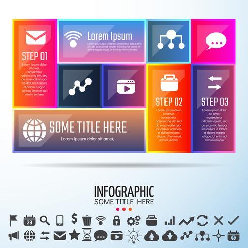 Elementos de design de infográficos vetor