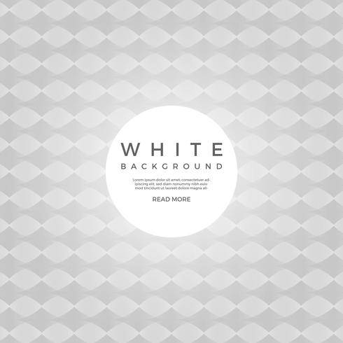 Plano geométrico branco de fundo Vector